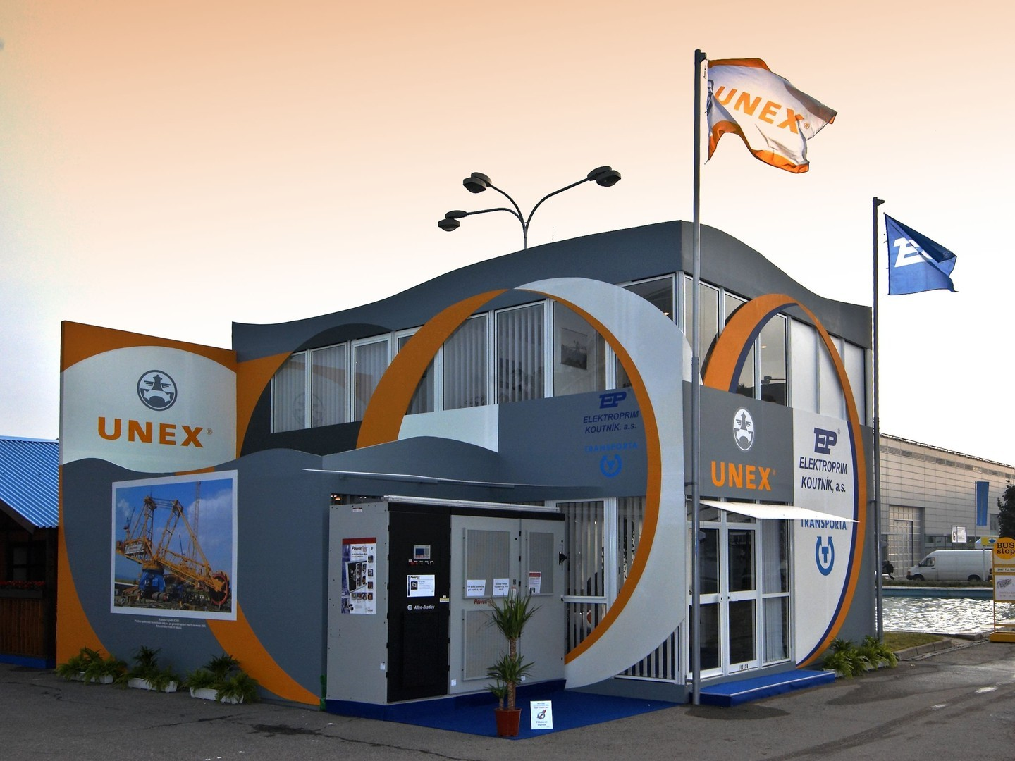 Stand View Exhibition Solutions : Outdoor exhibition stands bvv trade fairs brno