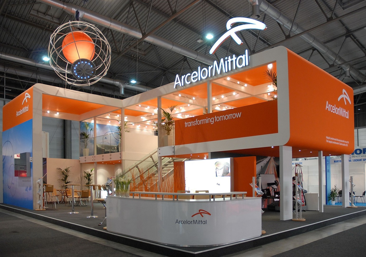 Virtual Exhibition Stand : Stand with four sides open bvv trade fairs brno