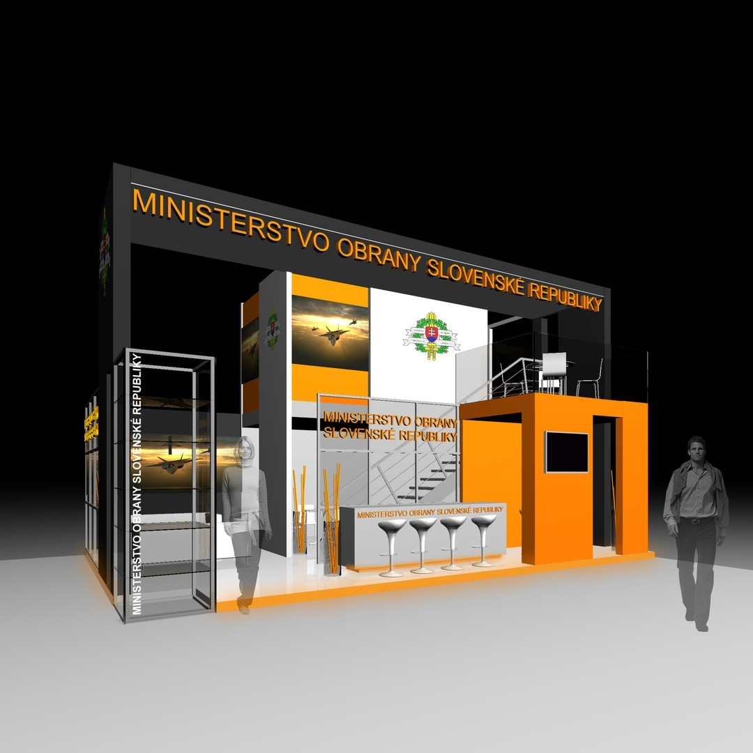 Stand With One Side Open Bvv Trade Fairs Brno