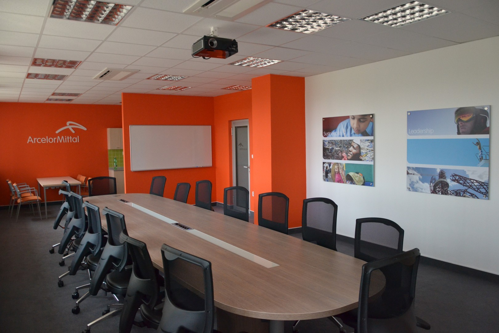 Attractive Sample Interior For The Company ArcelorMittal Design