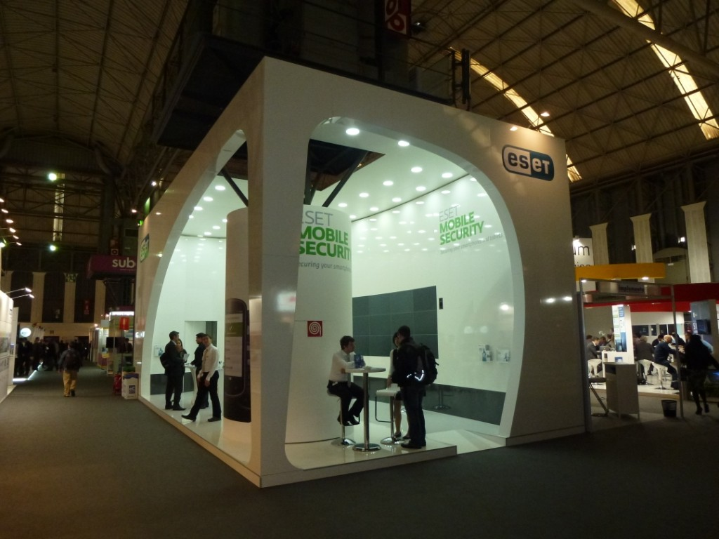 Exhibition Stand Presentation : Stand with two sides open bvv trade fairs brno
