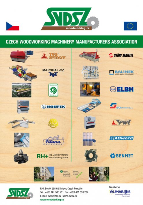 czech woodworking machinery manufacturers association ...