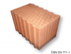 The plinth brick Porotherm 38 S Profi