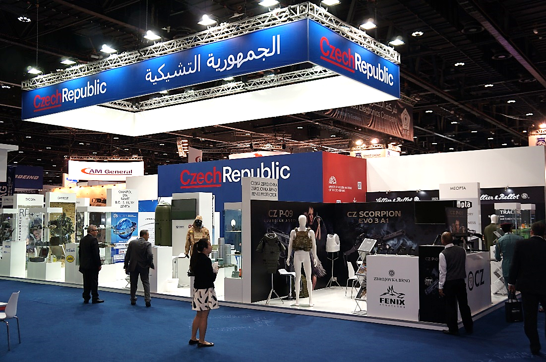 Exhibition Stand Builders In Abu Dhabi : Idex abu dhabi official czech participation bvv