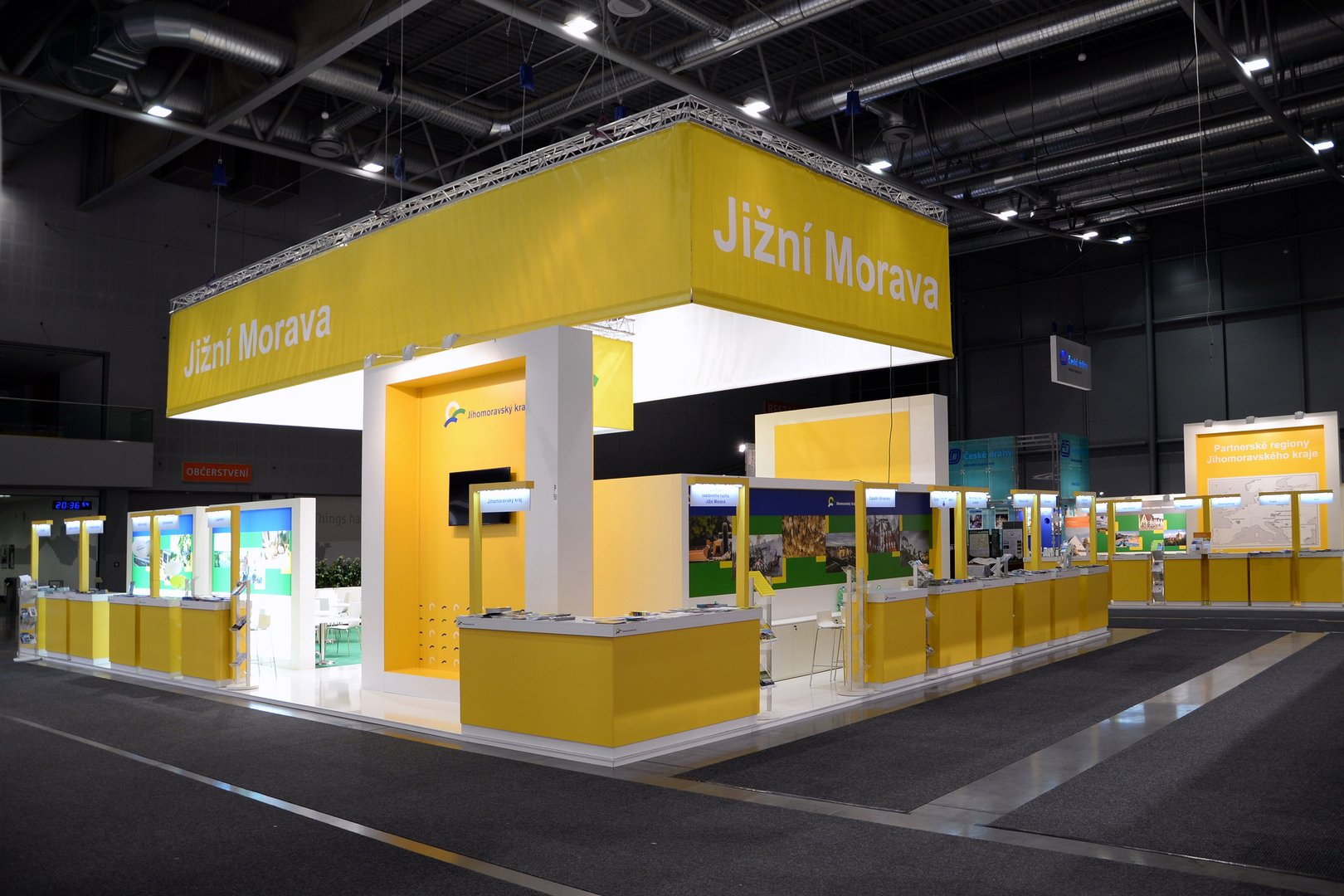 Exhibition Stand Galleries : Photo gallery stand construction bvv trade fairs brno
