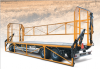 Tractor platform trailer with hydraulic sideboards Type PRS-3S/S18