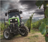 Agroplus 320 S with active independent suspension system