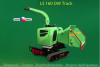 Wood chipper LASKI LS 160 DW Track on the tracked undercarriage