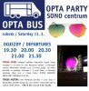 Autobusem na OPTA Party