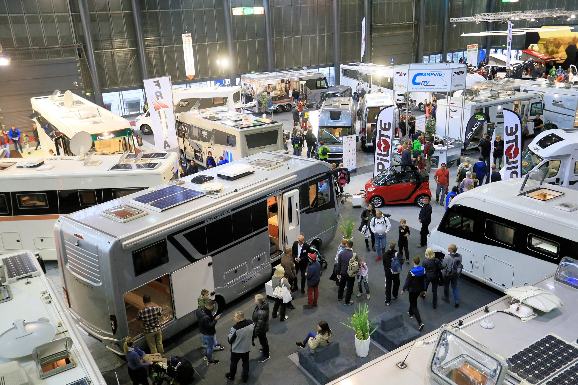 Caravaning Brno introduced new model series for the year