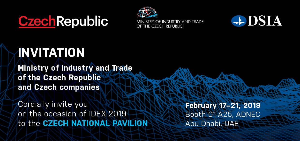 Companies from the Czech Republic at IDEX exhibition - IDET